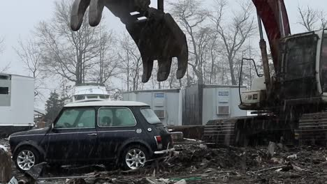Agents-From-Us-Customs-Destroy-An-Illegally-Imported-Mini-Cooper