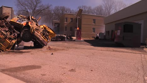 Rescuers-Work-In-A-Mock-Disaster-Scene-To-Simulate-Terrorist-Bomb-Attack-1
