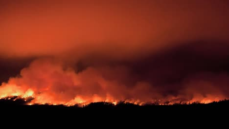 Excellent-Time-Lapse-Shot-Of-A-Wildfire-Burning-1
