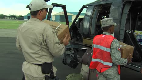 Medical-Personnel-And-Relief-Supplies-Are-Flown-Into-Haiti-Following-The-Devastating-Earthquake-In-2010