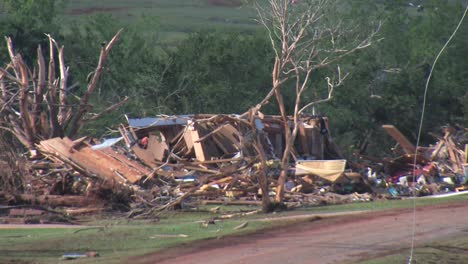 Us-Army-Personnel-Help-Cleanup-After-A-Devastating-Tornado-In-Piedmont-Oklahoma-In-2011
