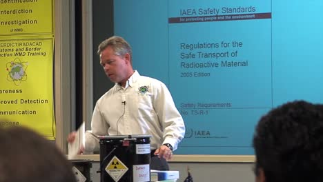 A-Lecturer-Talks-About-Transporting-Hazardous-And-Radioactive-Materials