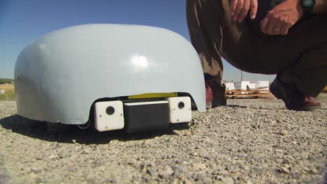 A-Turtle-Like-Remote-Control-Robot-Is-Tested