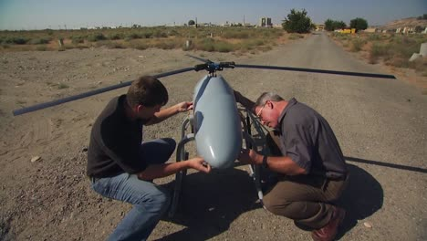 A-Drone-Helicopter-Is-Prepared-For-Flight-1