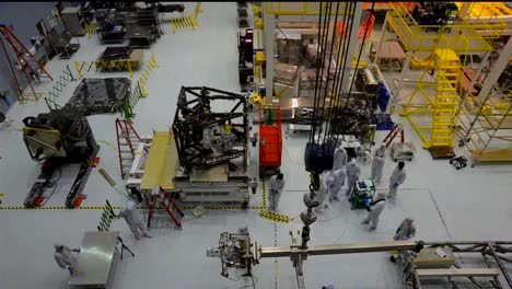 Time-Lapse-Of-Scientists-Constructing-A-Spacecraft