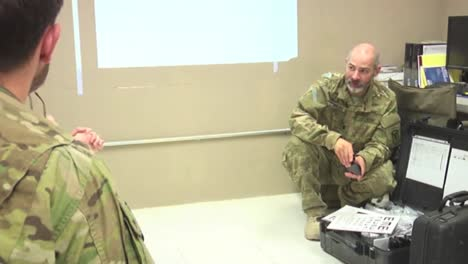 Army-Opthamologists-Work-With-Patients-In-A-Clinic-In-Afghanistan