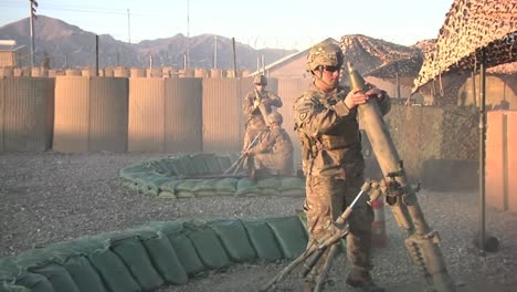 Marine-Soldiers-Test-Artillery-At-A-Remote-Base-In-Afghanistan