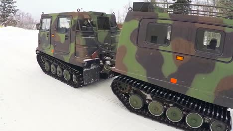 Us-And-Other-Military-Forces-Train-In-Severe-Cold-Weather