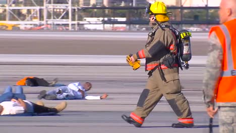 A-Mass-Casualty-Exercise-At-An-Airport-Features-Victims-Of-Terrorism-Lying-On-The-Tarmac-1