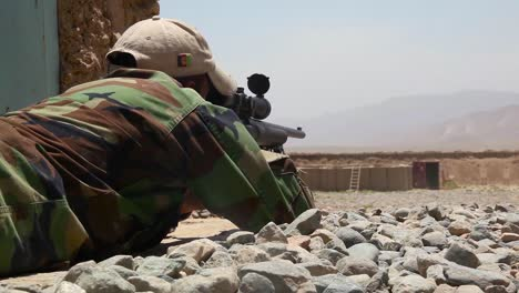 Afghan-Police-And-Army-Snipers-Are-Trained-To-Shoot