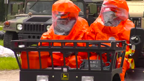 National-Guard-Troops-In-Hazmat-Suits-Train-To-Rescue-People-From-Destroyed-Buildings-After-A-Chemical-Spill-1