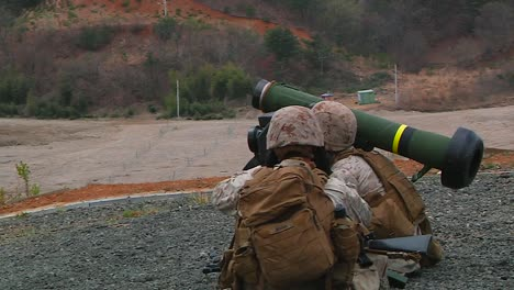 Shoulder-Propelled-Rockets-Are-Used-In-A-Live-Fire-Simulated-Exercise-By-The-Us-Army