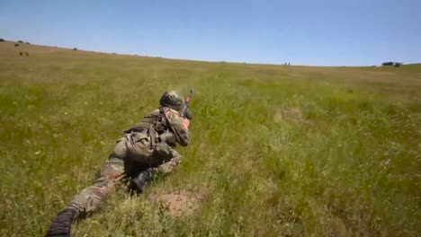 Army-Soldiers-Practice-At-An-Outdoor-Target-Range-In-Romania-1