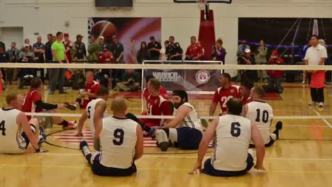 The-Us-Marines-Play-The-Us-Navy-In-A-Game-Of-Seated-Volleyball-2
