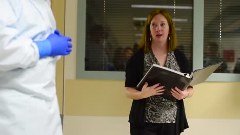 A-Medical-Support-Team-At-Brooke-Army-Medical-Center-In-Texas-Prepares-For-A-Contagious-Disease-Outbreak