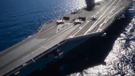 Aerial-Over-An-Aircraft-Carrier