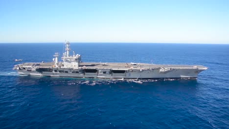 Aerial-Over-An-Aircraft-Carrier-1