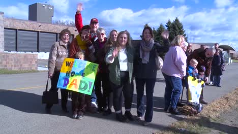 Air-Force-Servicemen-Return-Home-And-Are-Greeted-By-Their-Families-And-Friends