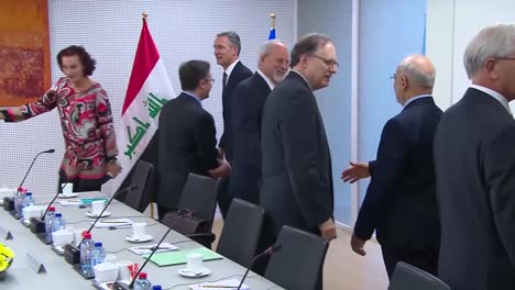 Nato-Secretary-General-Jens-Stoltenberg-Meets-With-Iraqi-Prime-Minister-Haider-Alabadi-For-A-Discussion-Of-The-Middle-East-Situation-1