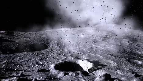 An-Animated-Meteor-Impact-On-The-Moon