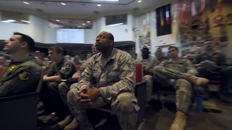 Us-Troops-Are-Briefed-On-A-Mission-At-A-Us-Army-Command-Center
