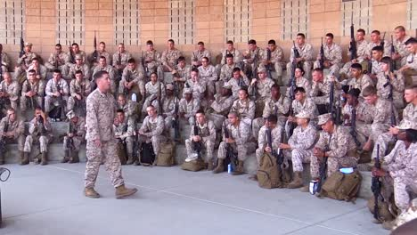 Marine-Corps-Officers-Practicing-Marksmanship-At-A-Firing-Range-1