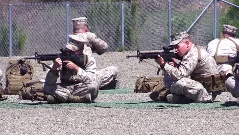 Marine-Corps-Officers-Practicing-Marksmanship-At-A-Firing-Range-2
