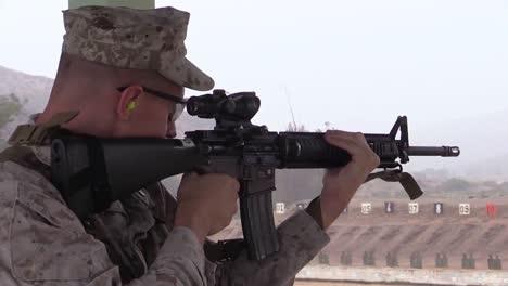 Marine-Corps-Officers-Practicing-Marksmanship-At-A-Firing-Range-3