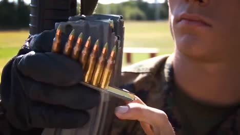 Marine-Corps-Officers-Practicing-Marksmanship-At-A-Firing-Range-7