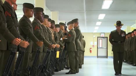 Uniform-Inspection-At-The-Us-Marine-Corps