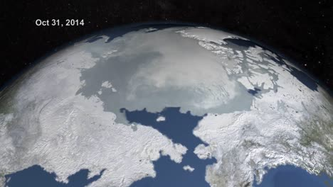 Nasa-Animation-Sequence-Of-Sea-Ice-And-Arctic-Icepack-Decline-Due-To-Global-Warming