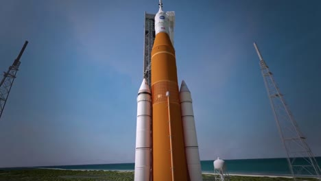 Animated-Presentación-Of-Nasa-Orion-Rocket-Mission