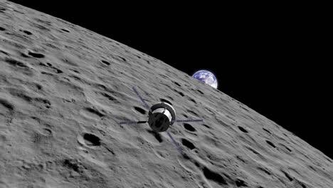 Presentación-Animada-De-La-Misión-2-Del-Cohete-Orion-De-La-Nasa