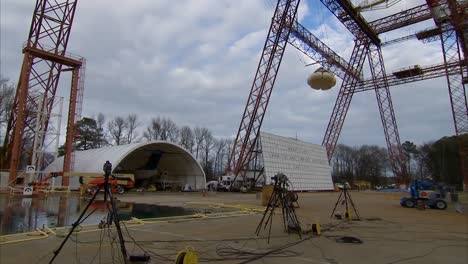A-Nasa-Spacecraft-Is-Dropped-From-A-Height-And-Tested-For-Splashdown-In-The-Ocean