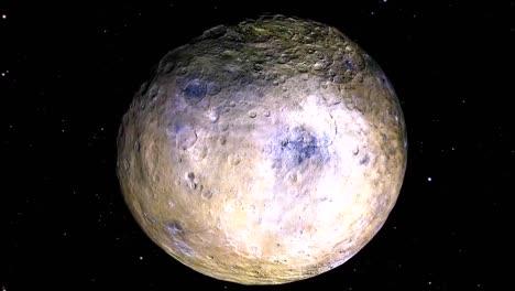 Animación-De-La-Nasa-De-Ceres-El-Planeta-Enano-Más-Grande-Del-Cinturón-De-Asteroides
