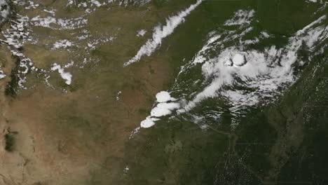 A-Weather-Map-Tracks-An-Outbreak-Of-Tornadoes-Near-Moore-Oklahoma