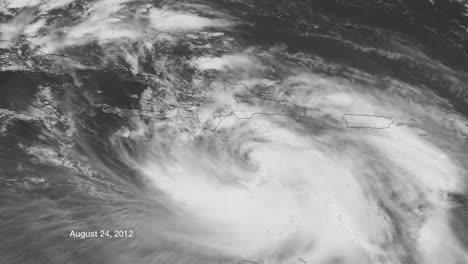 Un-Mapa-Meteorológico-Rastrea-El-Huracán-Isaac-Cuando-Cruzó-El-Caribe-En-2014-1