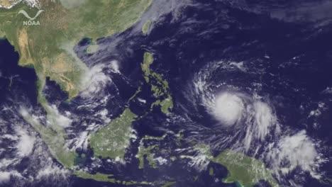 A-Powerful-Typhoon-Haiyan-Makes-Its-Way-Towards-Taiwan-And-China