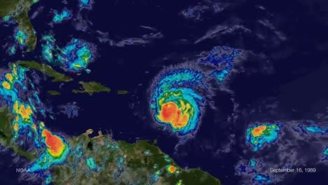 El-Huracán-Hugo-Cruzó-El-Caribe-En-1989