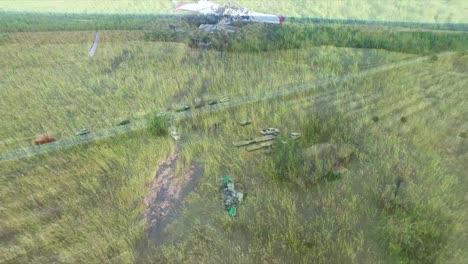 Tomas-Aéreas-Sobre-Accidentes-De-Avionetas-En-Zonas-Rurales