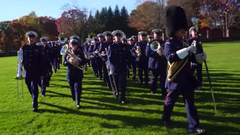 The-Us-Coast-Guard-Marching-Band-Playing-And-Marching-In-Formation-2