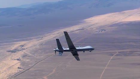 An-Unmanned-Drone-In-Flight