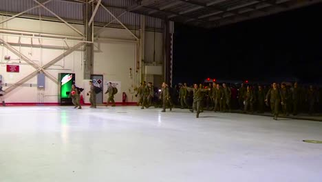Military-Men-Arrive-Home-From-War-And-Greet-Their-Families