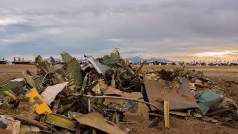 Great-Time-Lapse-Shots-Through-A-Junkyard-Or-Boneyard-Of-Abandoned-Airplanes-2
