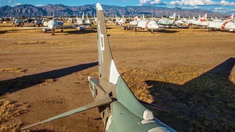 Great-Time-Lapse-Shots-Through-A-Junkyard-Or-Boneyard-Of-Abandoned-Airplanes-3