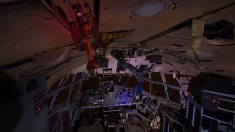 Great-Time-Lapse-Shots-Through-A-Junkyard-Or-Boneyard-Of-Abandoned-Airplanes-At-Night-10