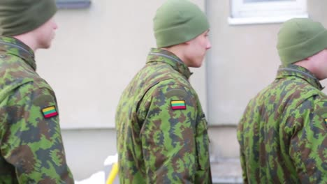 Lithuanian-Troops-Train-To-Oppose-Russian-Aggression