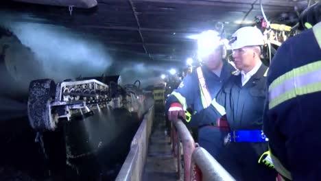 Epa-Administrator-Scott-Pruitt-Tours-A-Coal-Mine-In-Pennsylvania-In-2017-4