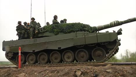 An-Canadian-Army-Tank-Crosses-A-Bridge-1