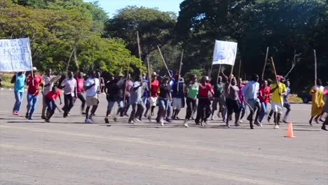 African-Policía-And-Military-Train-To-Suppress-Terrorism-Rioting-And-Uprising-1